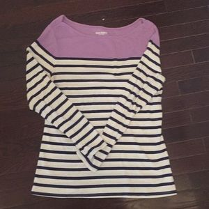 Old Navy Color-block striped Tee